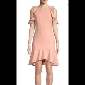 CINQ À SEPT NWT ruffle mini dress Pastel size 2